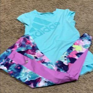 Adidas girls shirt